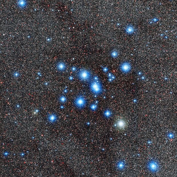 Open Star Cluster M7