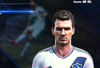 PES 2013: MLS option file LA Galaxy Beckham