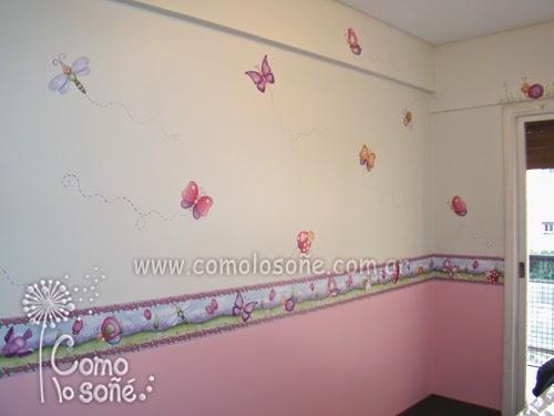 Karina cabrera dise os ideas para decorar cuartos infantiles - Diseno de paredes pintadas ...