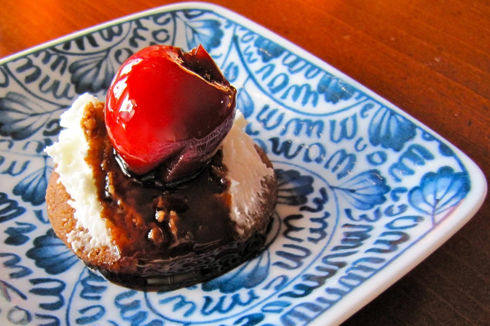 ... Thyme: Honeyed Balsamic Cherry Cheesecake in a Triple Ginger Crust