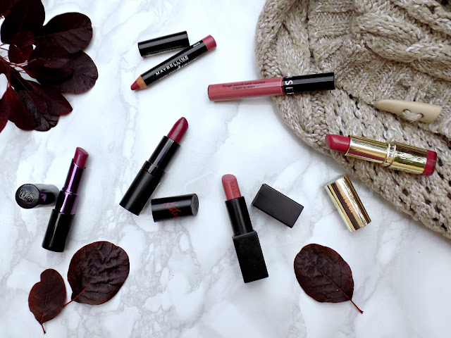 Autumnal lipsticks - #TuesdayTakeover | Dagmara - Mummy's Beauty Corner