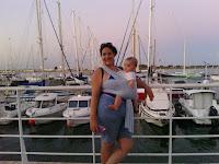 voyage vacances ferias poussette carrinho aproveitar praia mar portage babywearing