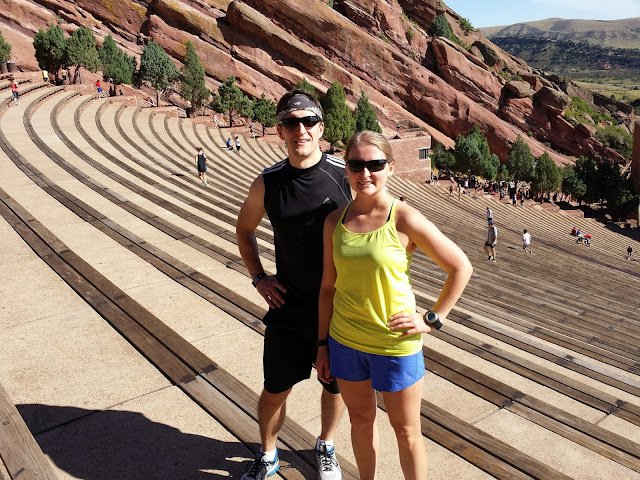 Matt and Lisa at Red Rocks
