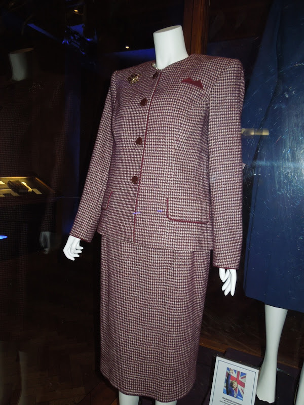 Margaret Thatcher power suit Iron Lady costume