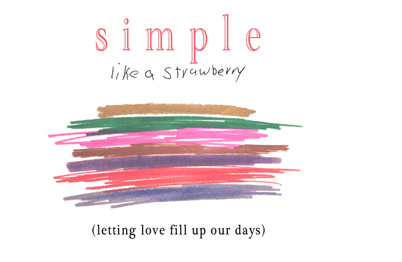simple like a strawberry