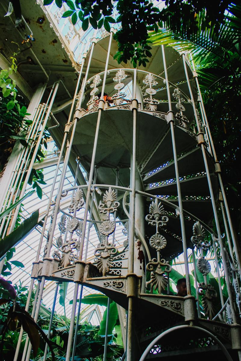 Kew Gardens Spiral Starcase London