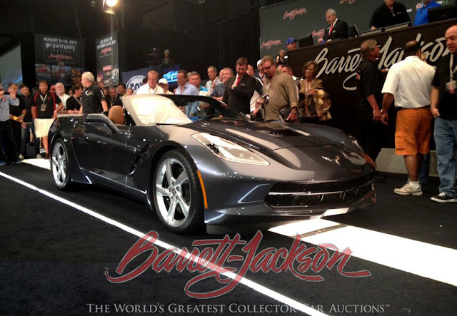 First 2014 Corvette Stingray Convertible Sells For $1 Million