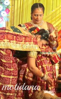 Bhatia wedding rituals , Mandap muharat