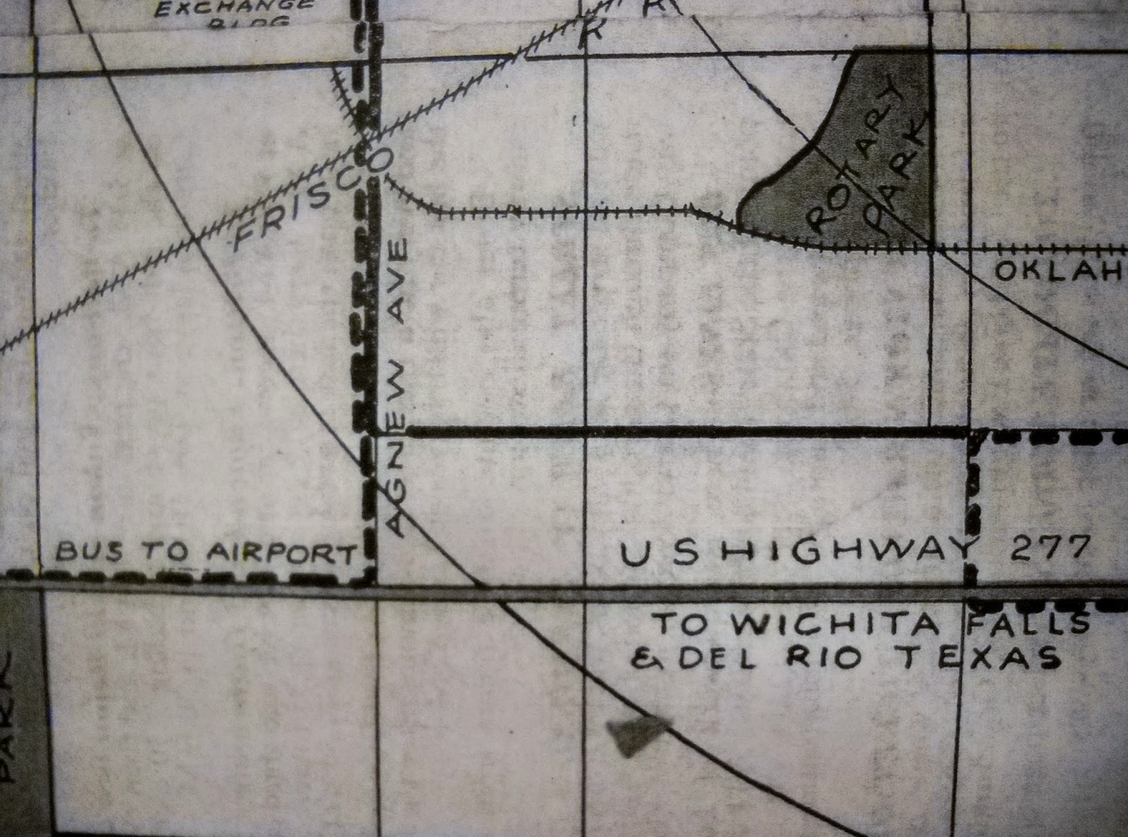 this map clearly illustrates the significance of the agnew avenue exchange streets and the route to the airport that would cross newcastle road