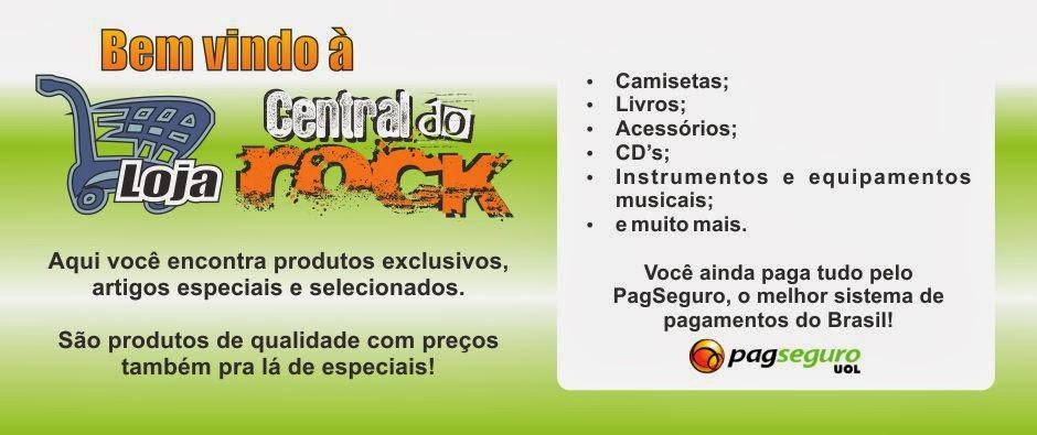 Loja Central do Rock - Adquira produtos exclusivos a preços pra lá de especiais!