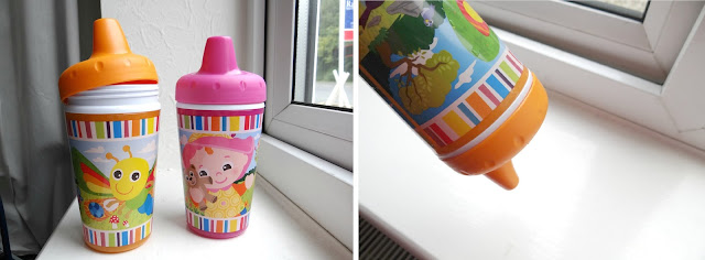 Lamaze feeding, non spill cup, sippy cup