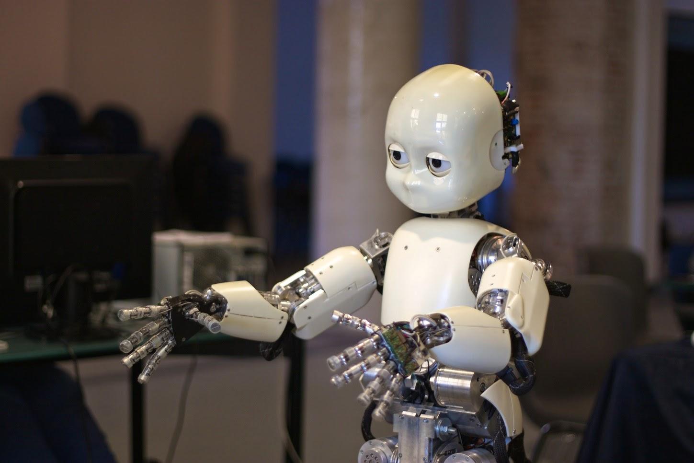 electronic skin robot