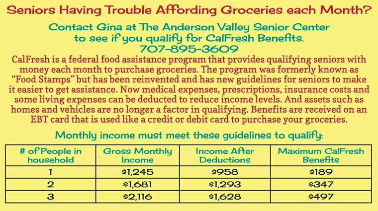 Financial Help for Groceries