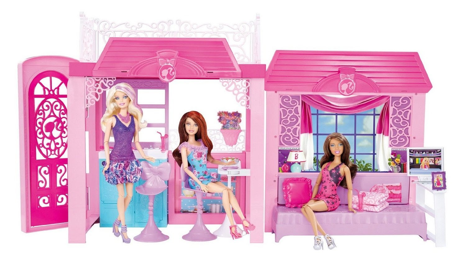 Blog With Best Of All Things Doll House Set Barbie Glam