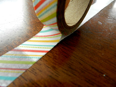 Washi Tape Bow