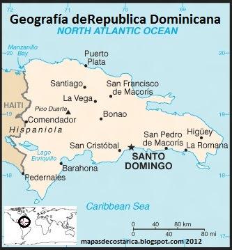 Geografía de la República Dominicana