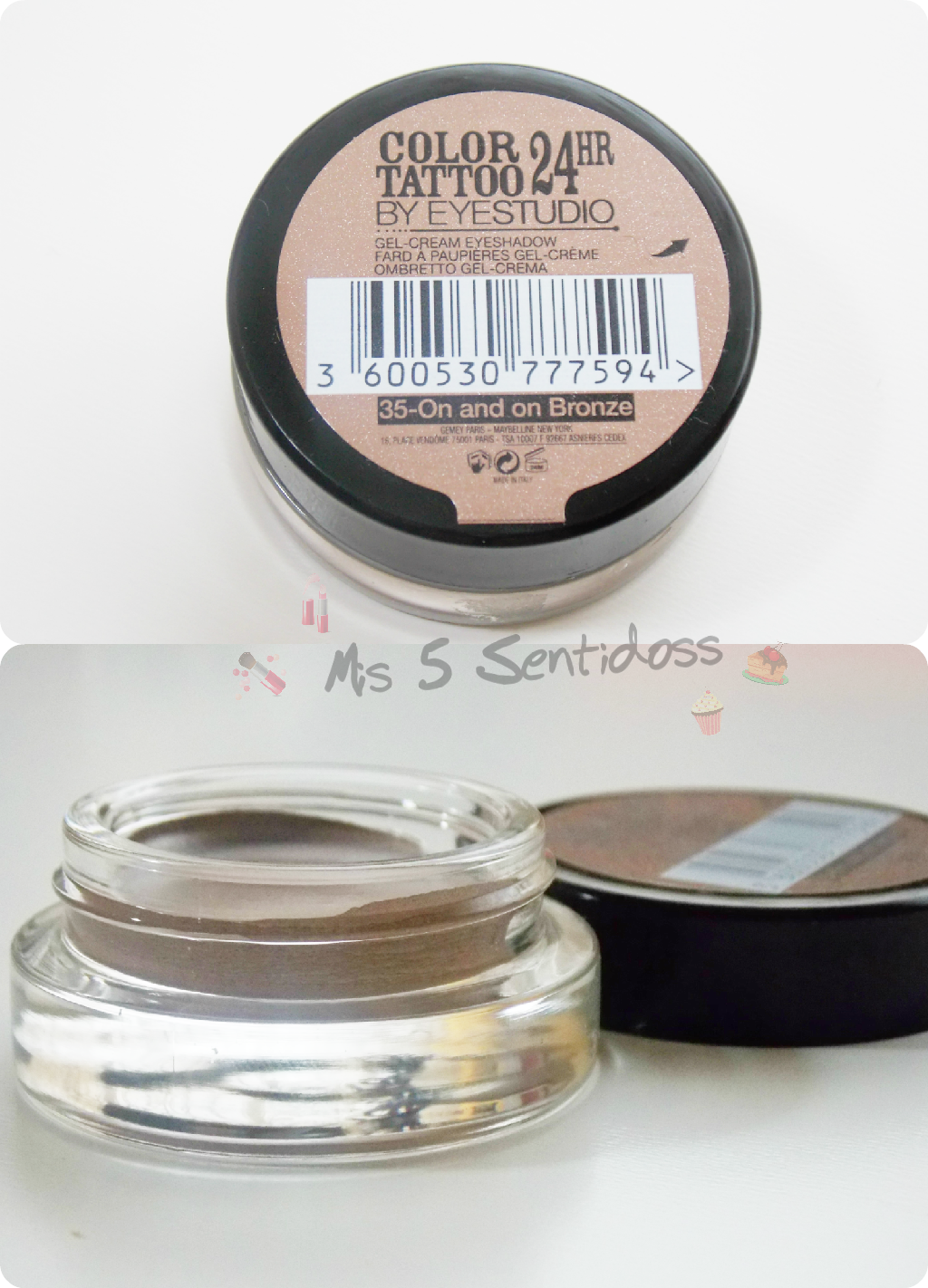 Maybelline Color Tattoo 24 horas  On And On Bronze