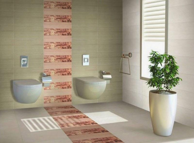 Gambar Contoh Desain Keramik Kamar Mandi
