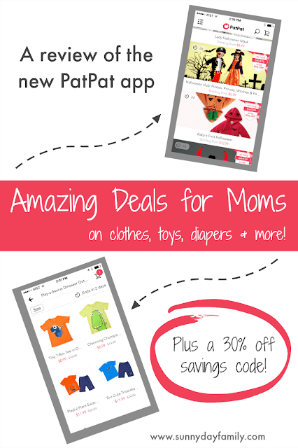 Awesome daily deals for moms and babies on the new PatPat shopping app! Read my review and find out how to save on everyday essentials.