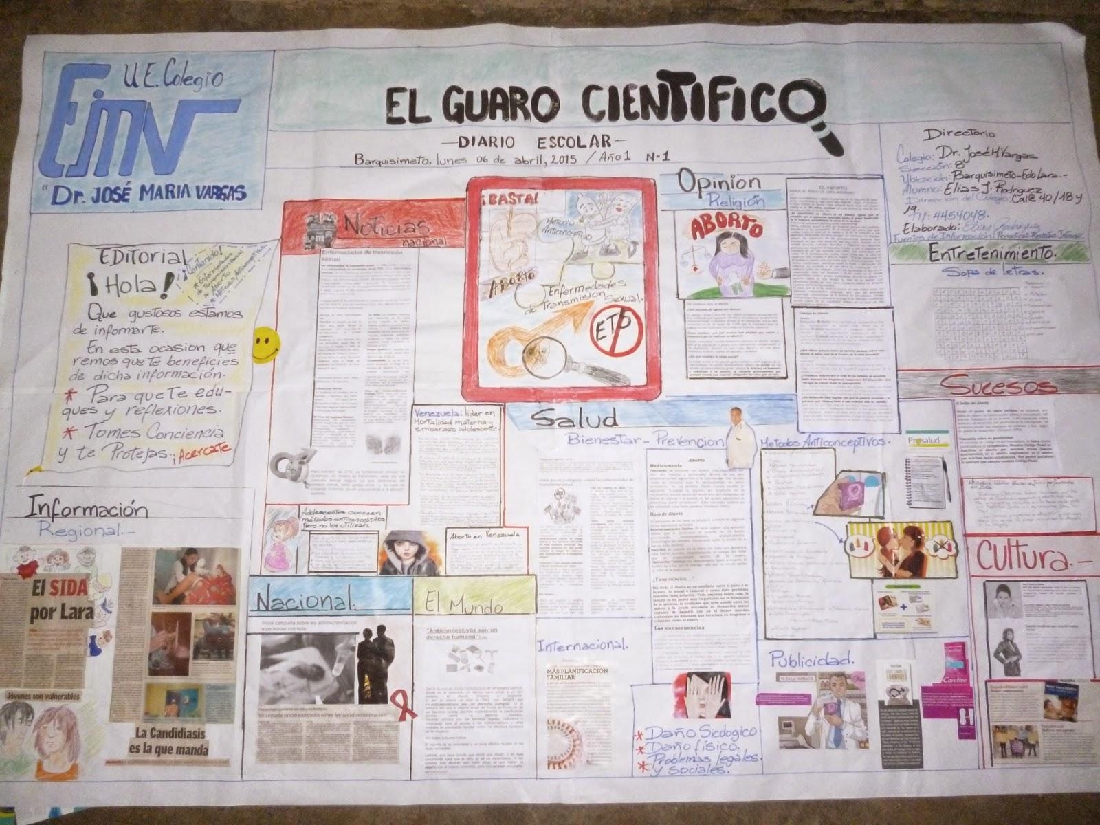 Manualidades lenis periodico mural escolar for Como elaborar un periodico mural escolar