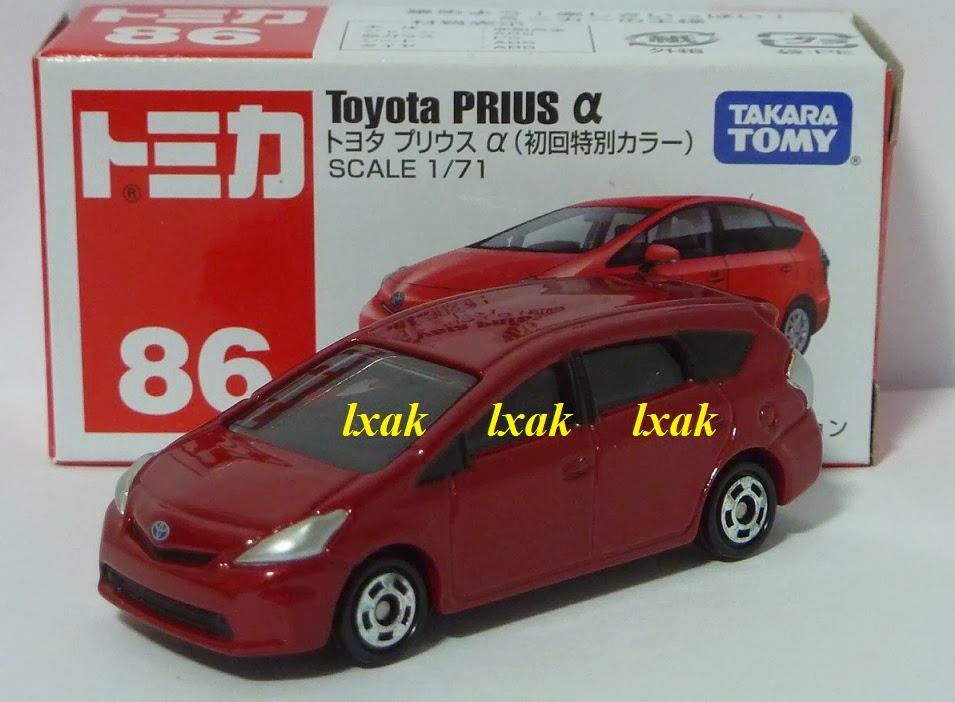 *Tomica No086 Toyota Prius α box