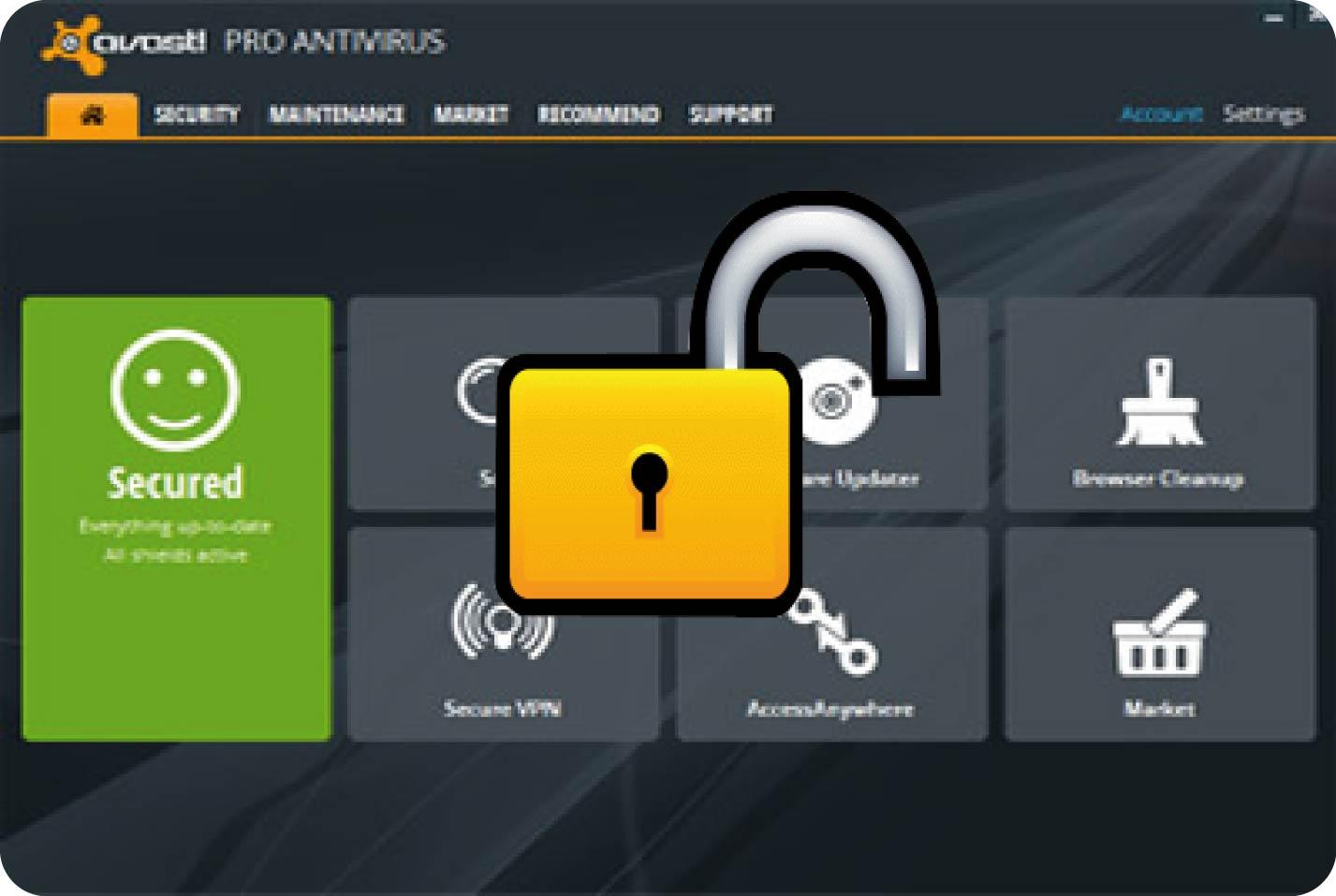 Avast Pro Antivirus 2019 Crack License Key Valid Till 2050