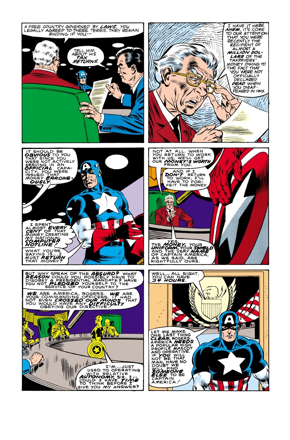 Captain America (1968) Issue #332 #261 - English 10