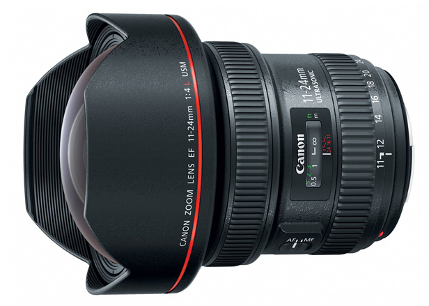 New Canon EF 11-24mm f/4L USM Ultra Wide-Angle Zoom Lens