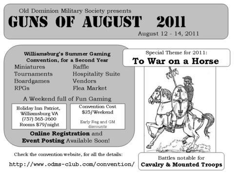 Guns Of August ( Aug 12th - 14th 2011)