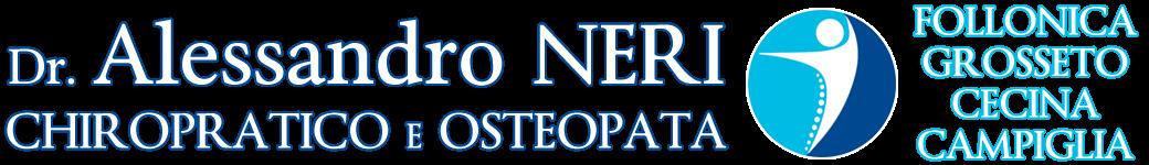 Dr. ALESSANDRO NERI - Chiropratico e Osteopata