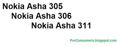 Nokia Asha 305, Asha 306 and Asha 311 review