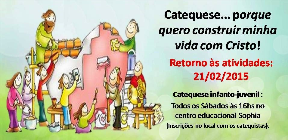 CATEQUESE INFANTO-JUVENIL