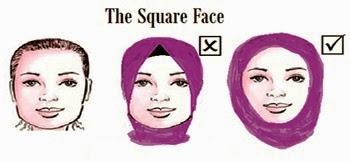 Tips Cara Memakai Jilbab Sesuai Bentuk Wajah - Model Jilbab