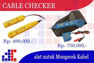 alat untuk mengecek Kabel Telepon