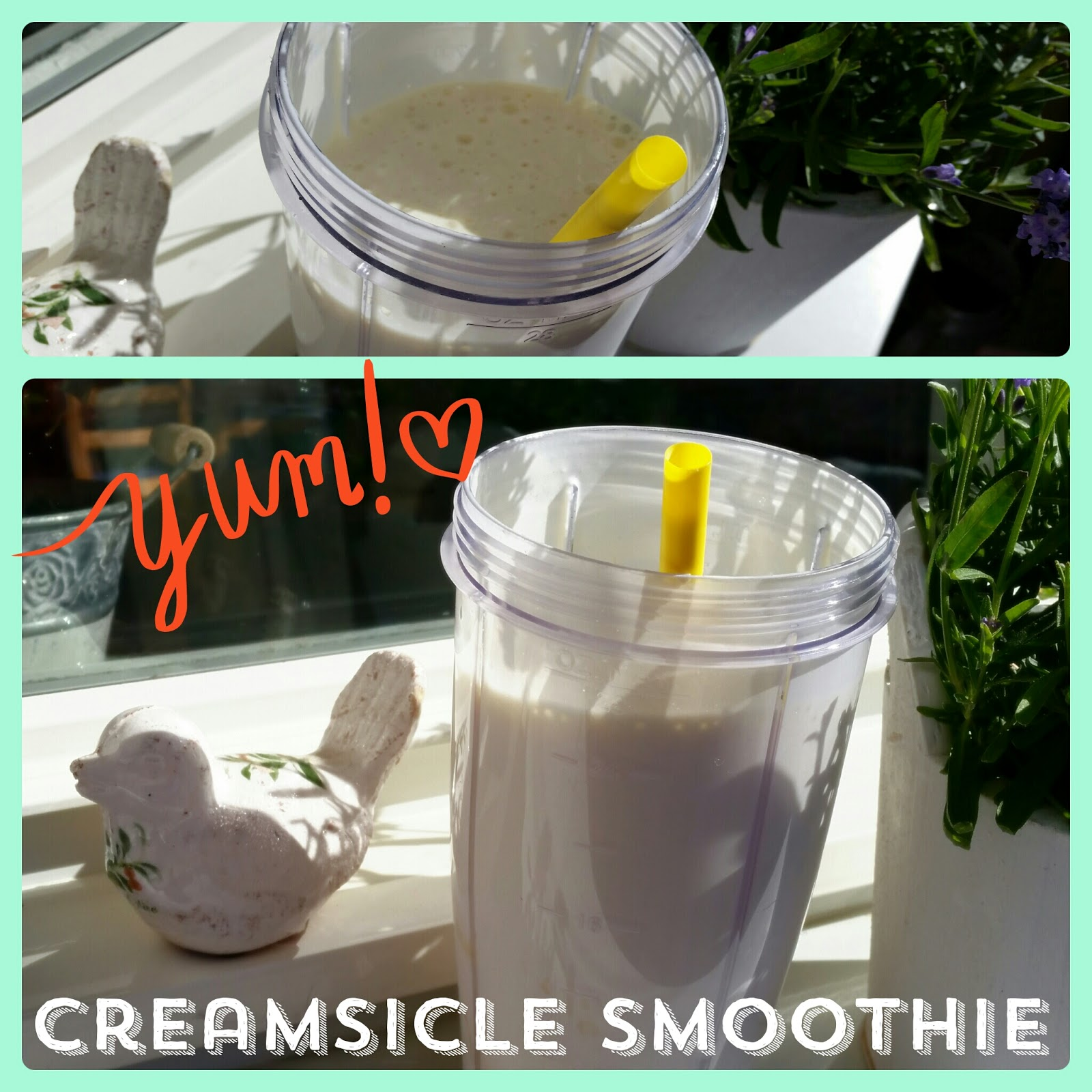 tone it up team, creamsicle smoothie, yum