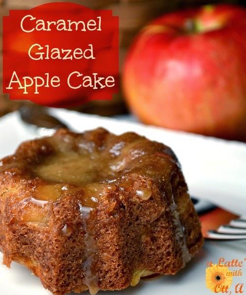 a Latte' with Ott, A: Caramel Glazed Apple Cake