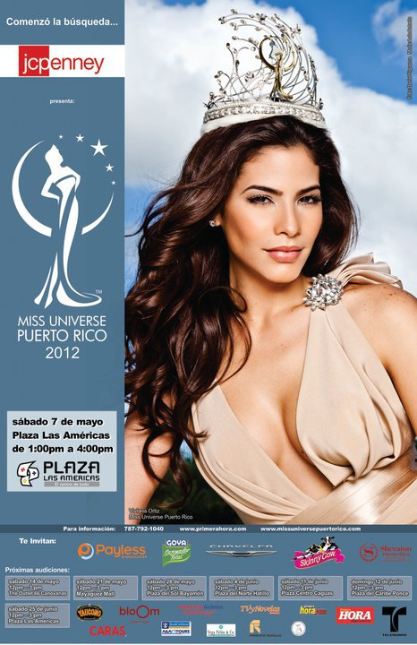 Viviana Ortíz Pastrana is the newly crowned Miss Universe Puerto Rico 2011