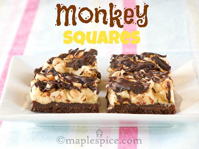 Vegan Monkey Squares