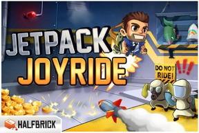 Halbrick's Jetpack Joyride hits 350k downloads, new update