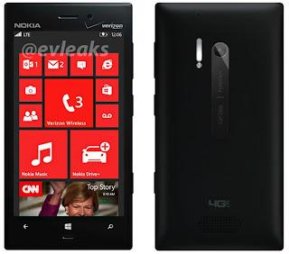 Bocoran Nokia Lumia 928