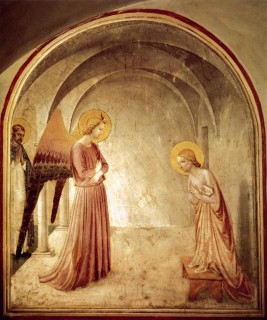 25/26 marzo 2012 : Annunciazione del Signore dans images sacrée Fra-Angelico-Annunciation