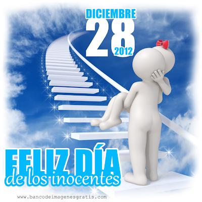 Dia de los inocentes 28 de diciembre para compartir