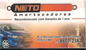 NETO AMORTECEDORES - (73) 8807-2381