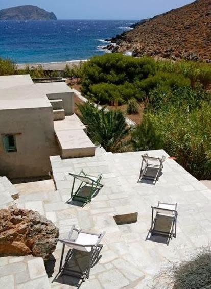 terraza singular casa a pie de playa