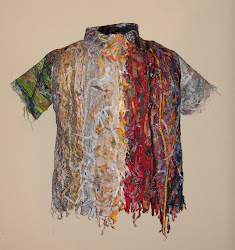 Shirtwaste: Fabric Sculpture