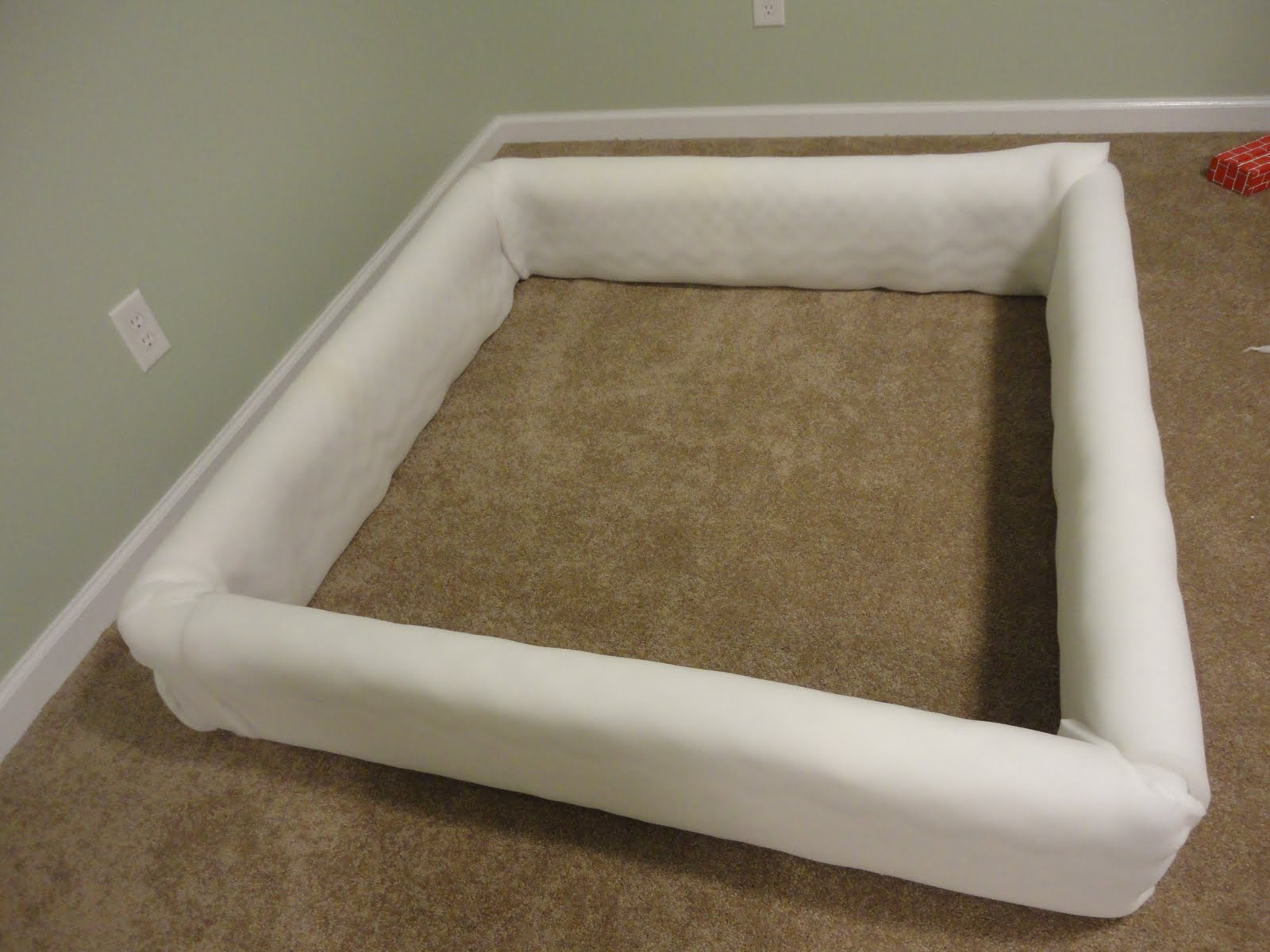 how to build a foam pit