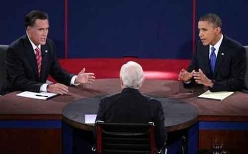 Debat Mitt Romney dan Barack Obama