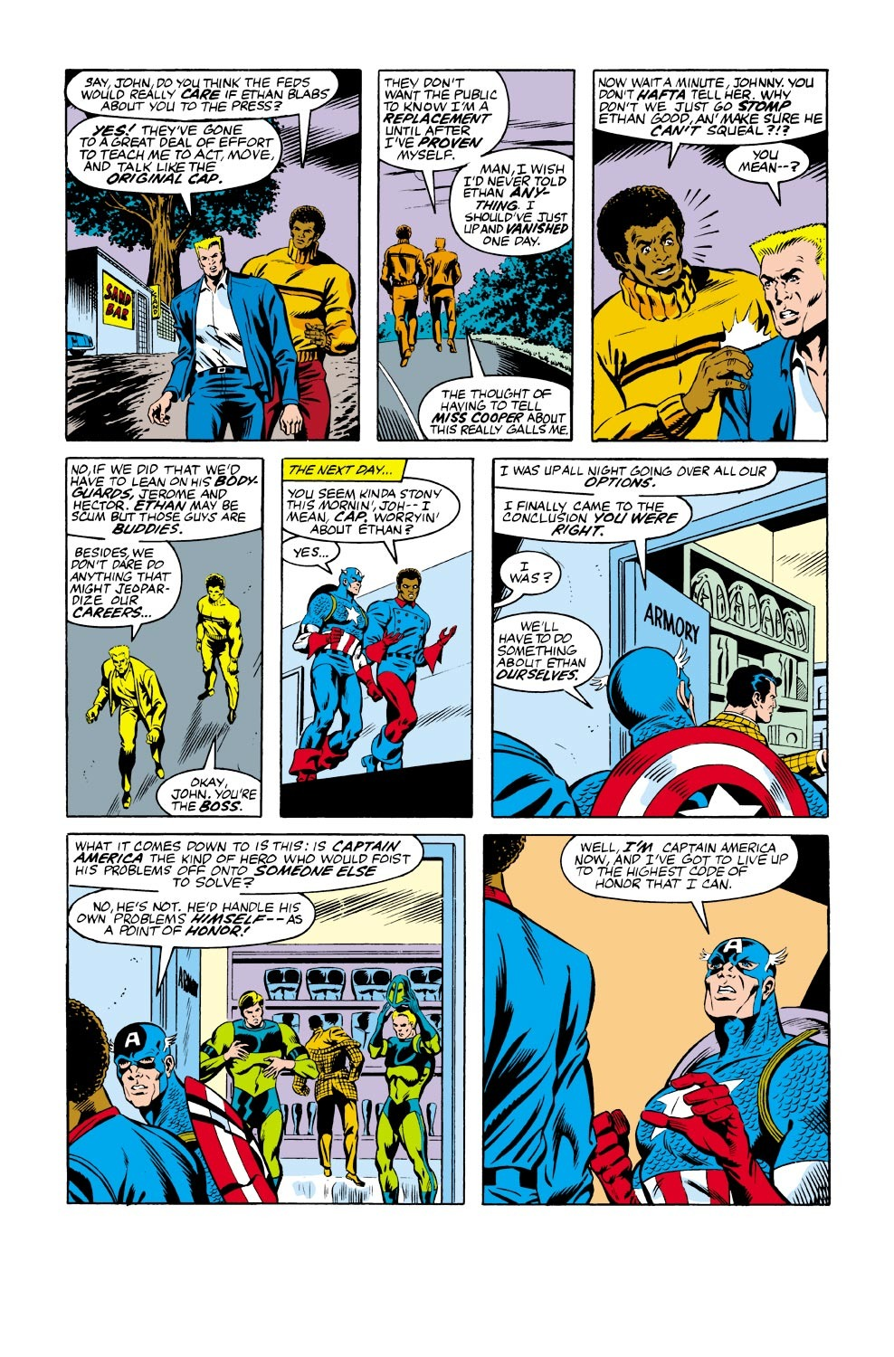 Captain America (1968) Issue #334 #263 - English 15