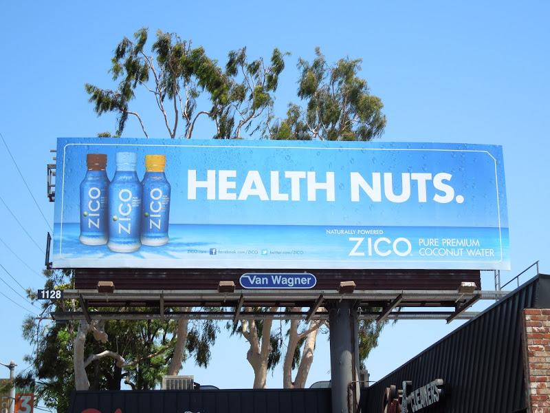 Health nuts Zico billboard