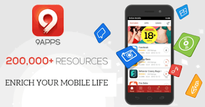 9apps android download a huge app and game store for mobile